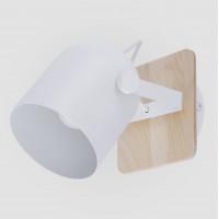 Спот с деревянным основанием 2625 Spectro White