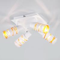 Потолочный светильник с поворотными плафонами 20085/4 белый