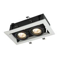 Встраиваемый светильник Maytoni DL008-2-02-W