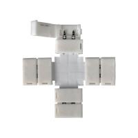 Аксессуар для светодиодной ленты LED 2X коннектор для 5050 одноцветной светодиодной ленты X (5 шт)