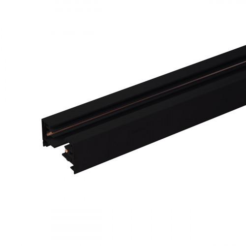 Однофазный шинопровод  2 метра черный (с вводом питания..