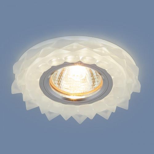 Встраиваемый потолочный светильник с LED подсветкой 220..