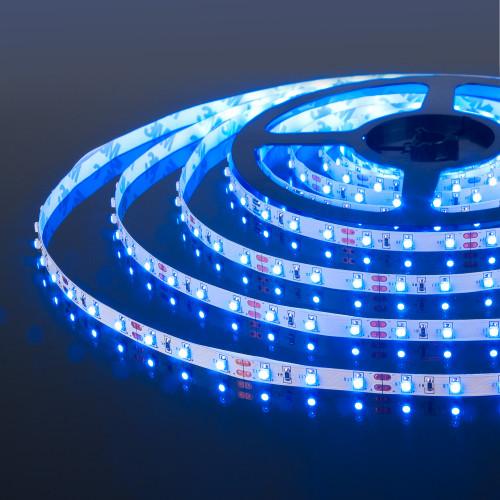 Светодиодная лента 2835/60Led 4,8W IP20 синий свет