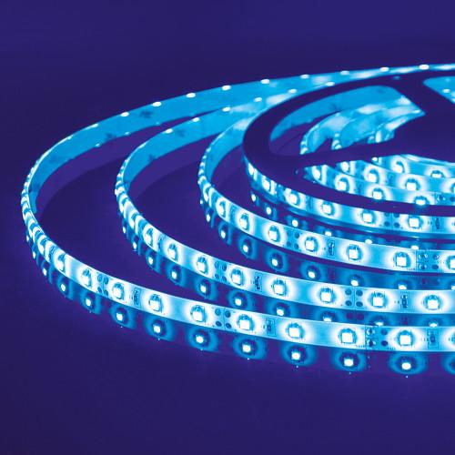Светодиодная лента 2835/60 LED 4.8W IP65 синий свет