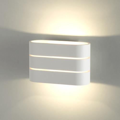 Light Line белый Настенный светодиодный светильник MRL LED 1248