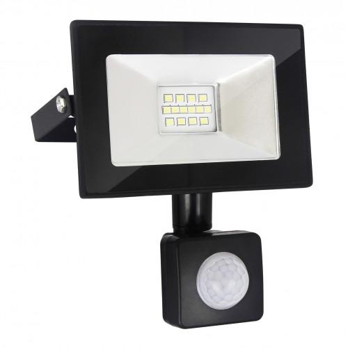 Прожектор светодиодный с датчиком движения и освещеннос..