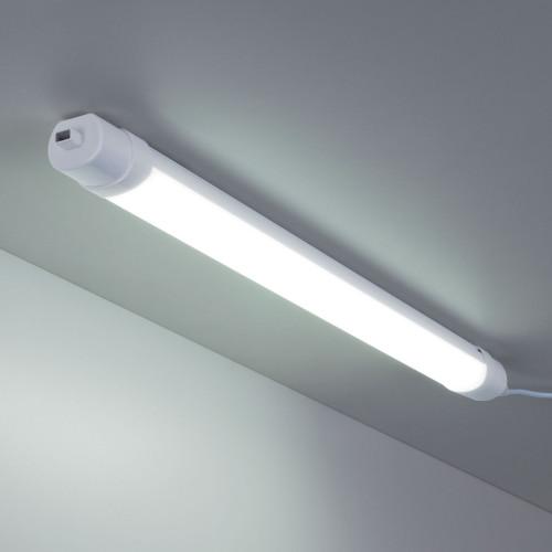 LED Светильник 60 см 18Вт Connect белый пылевлагозащище..