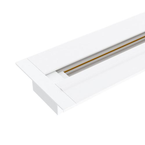 Встраиваемый однофазный шинопровод 2 метра белый (с вво..