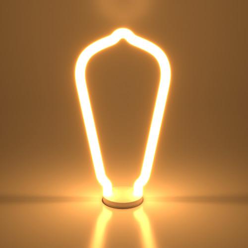 Декоративная контурная лампа Decor filament 4W 2700K E27 BL158