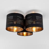 Потолочный светильник 851 Tago black