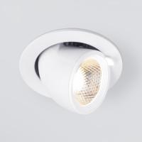 Встраиваемый точечный светодиодный светильник 9918 LED 9W 4200K белый