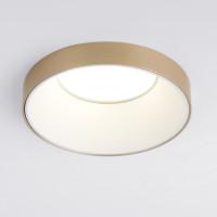 Встраиваемый точечный светильник 112 MR16 белый/золото