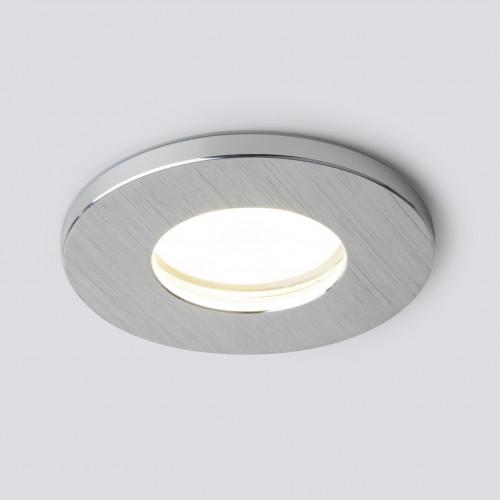 Влагозащищенный точечный светильник 125 MR16 серебро